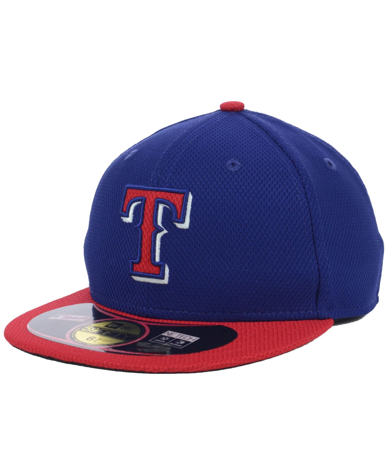 Lyst - Ktz Kids  Texas Rangers Mlb Diamond Era 59fifty Cap in Blue ... d0aee8f18928