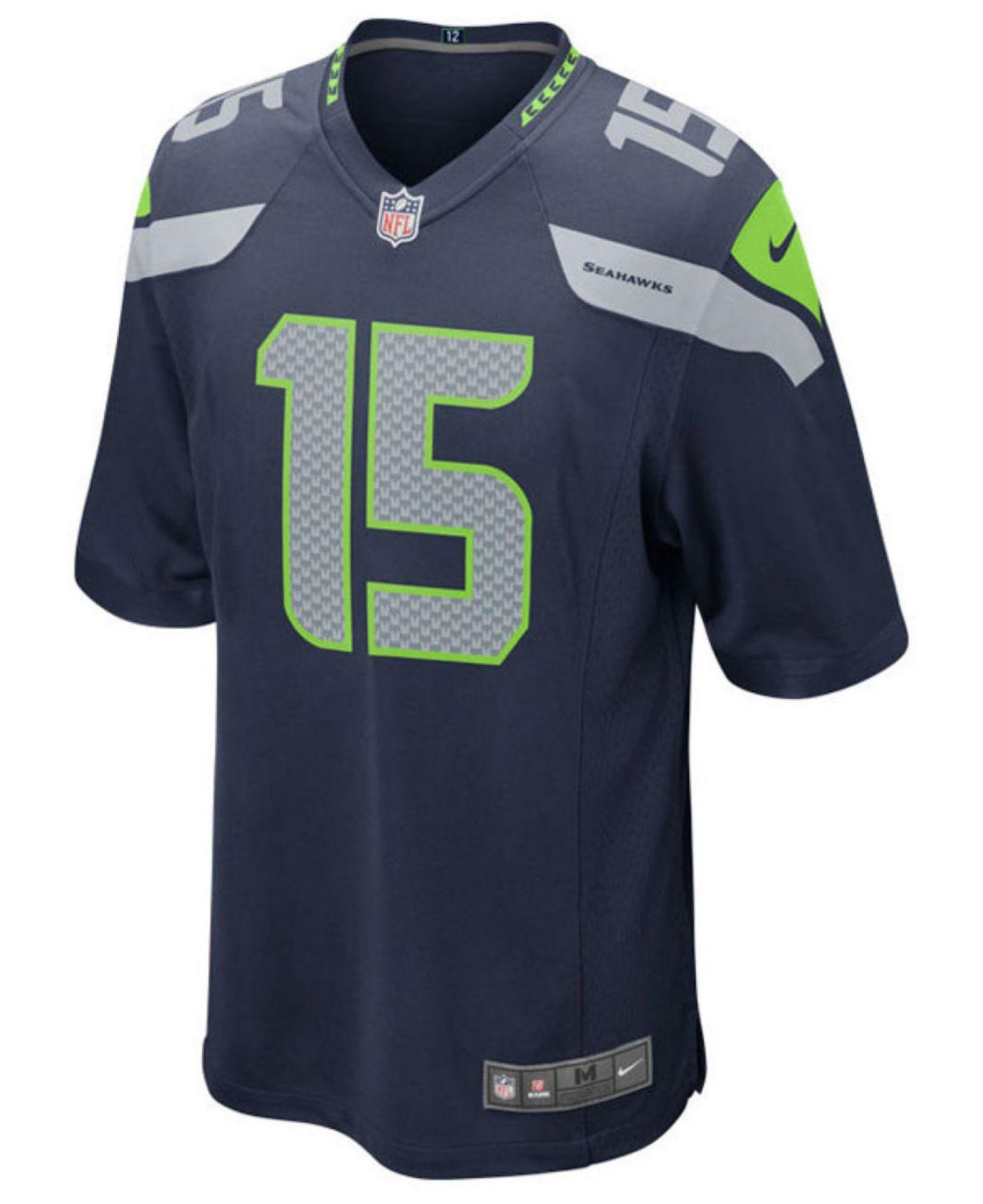 NFL Jerseys Sale - Nike Boys' Jermaine Kearse Seattle Seahawks Game Jersey in Blue ...