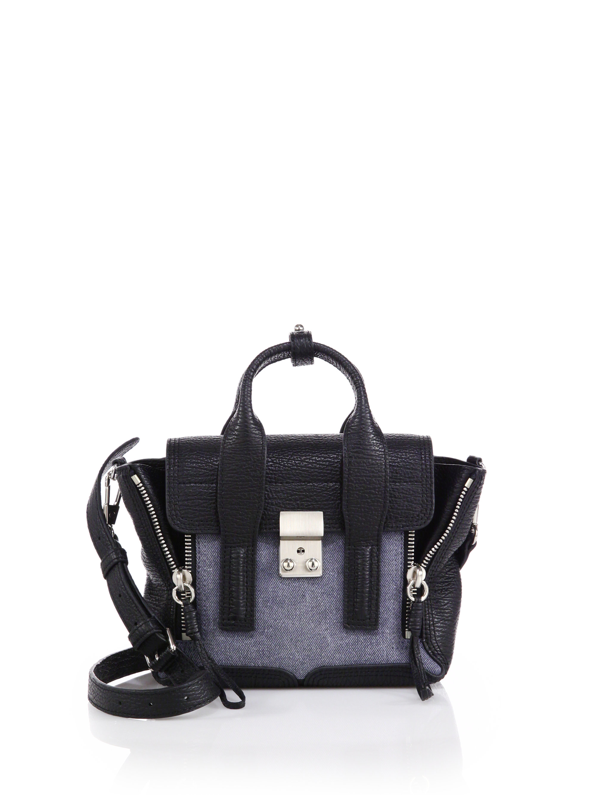 Black Nano Shark Pashli Satchel 3.1 Phillip Lim