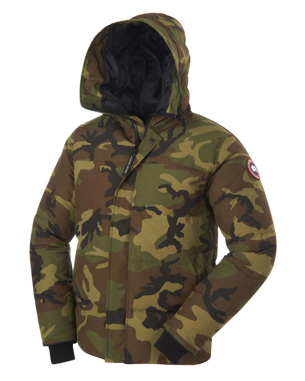 canada goose jacket camo
