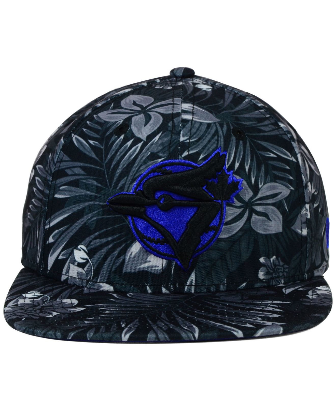 buy popular 987dc 93c78 ... wholesale lyst ktz toronto blue jays night tropic 9fifty snapback cap  in d4336 c99ea