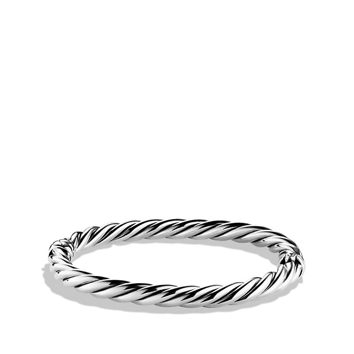 18kt yellow gold accented sterling silver Sculpted Cable cuff bracelet - Metallic David Yurman YHdEKnRTRv