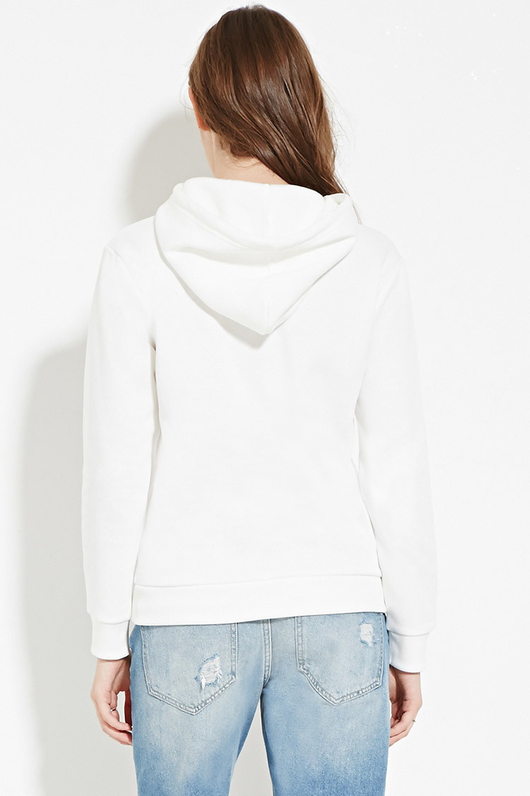 5c43bc52ea0 Forever 21 Johnny Depp Hoodie in Gray - Lyst
