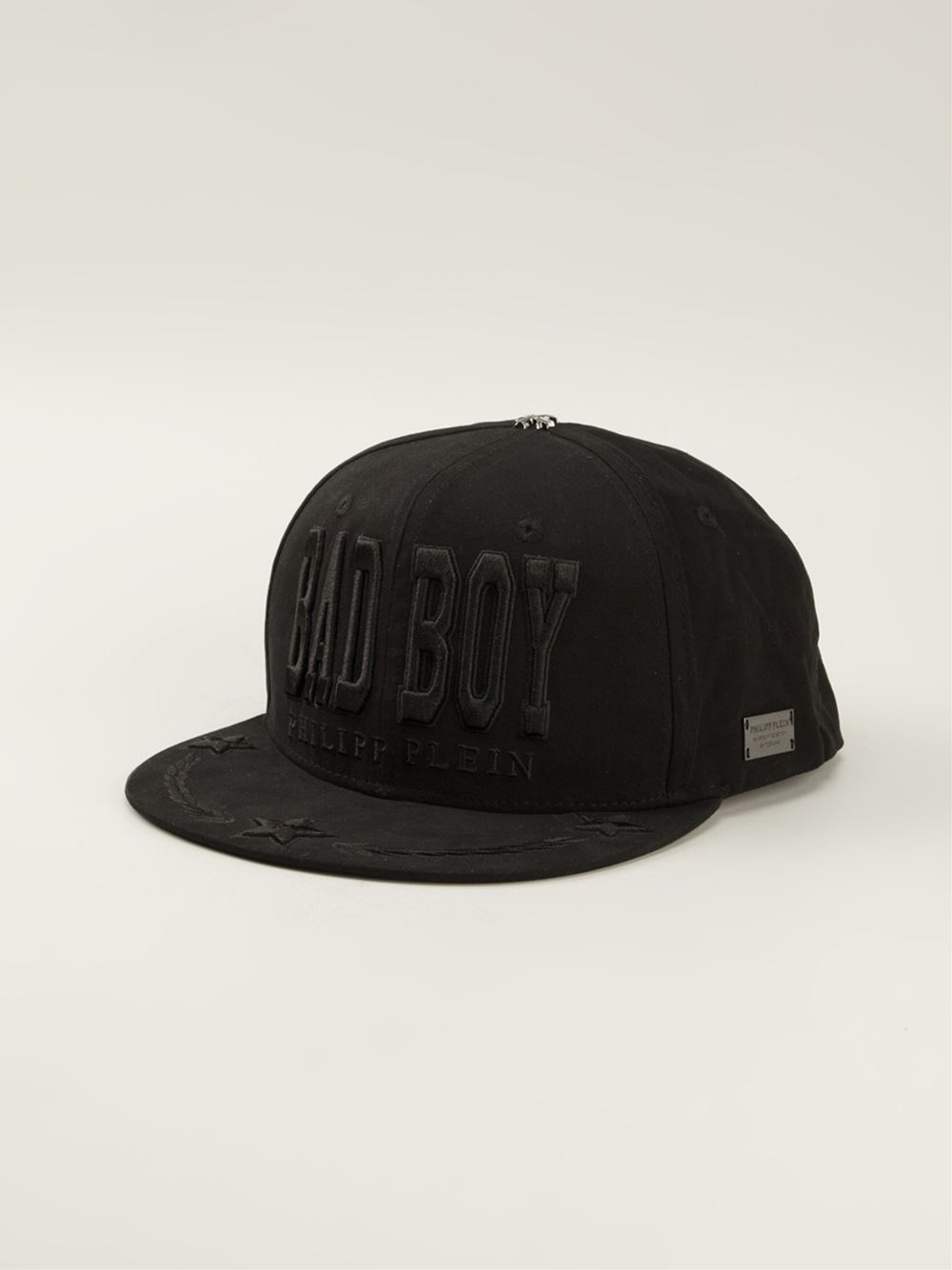 philipp plein bad boy cap in black for men lyst. Black Bedroom Furniture Sets. Home Design Ideas