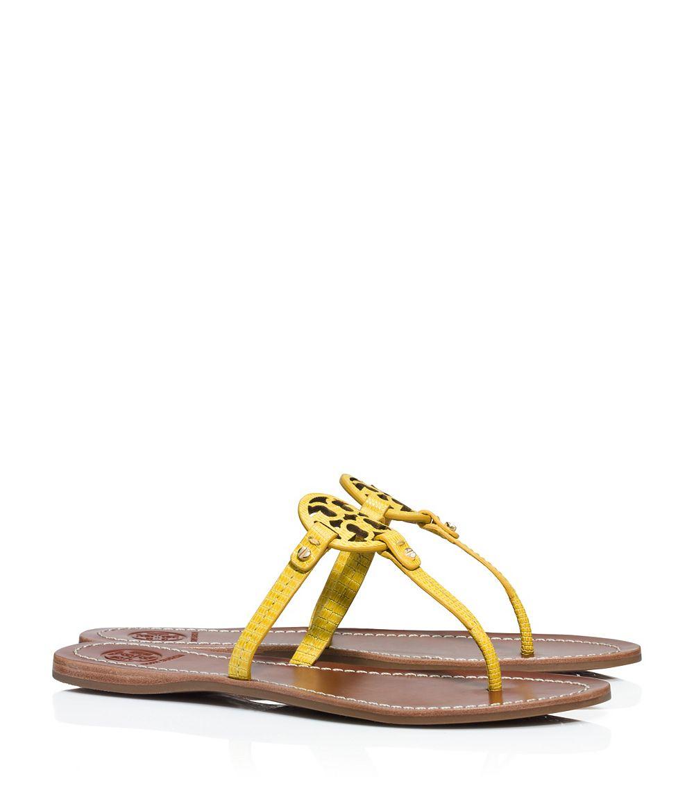 02a1da935429d0 Tory Burch Mini Miller Flat Thong Sandal - Lyst
