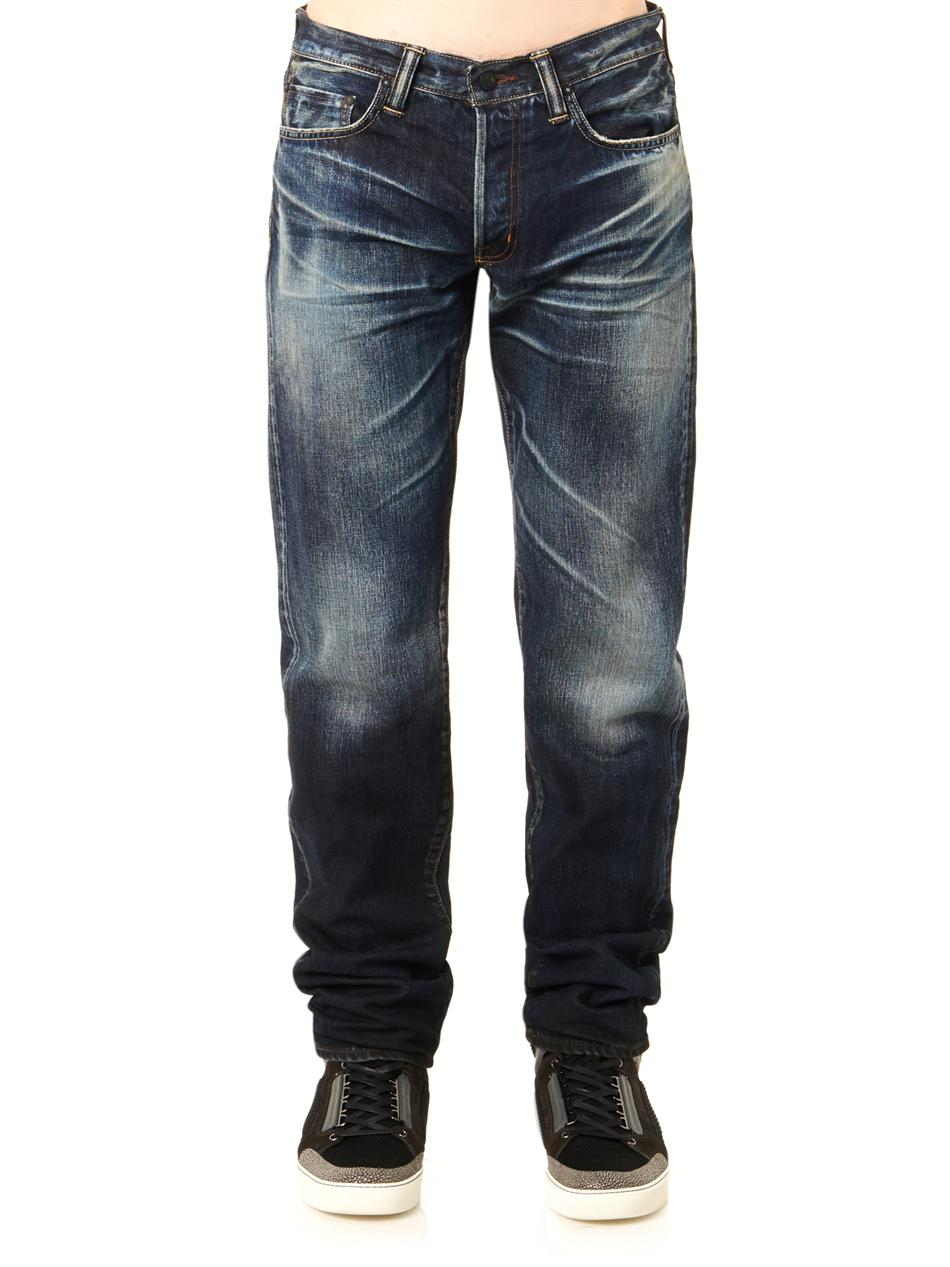 dee2cebc Lyst - Mastercraft Union Relaxed Tapered-leg Jeans in Blue for Men