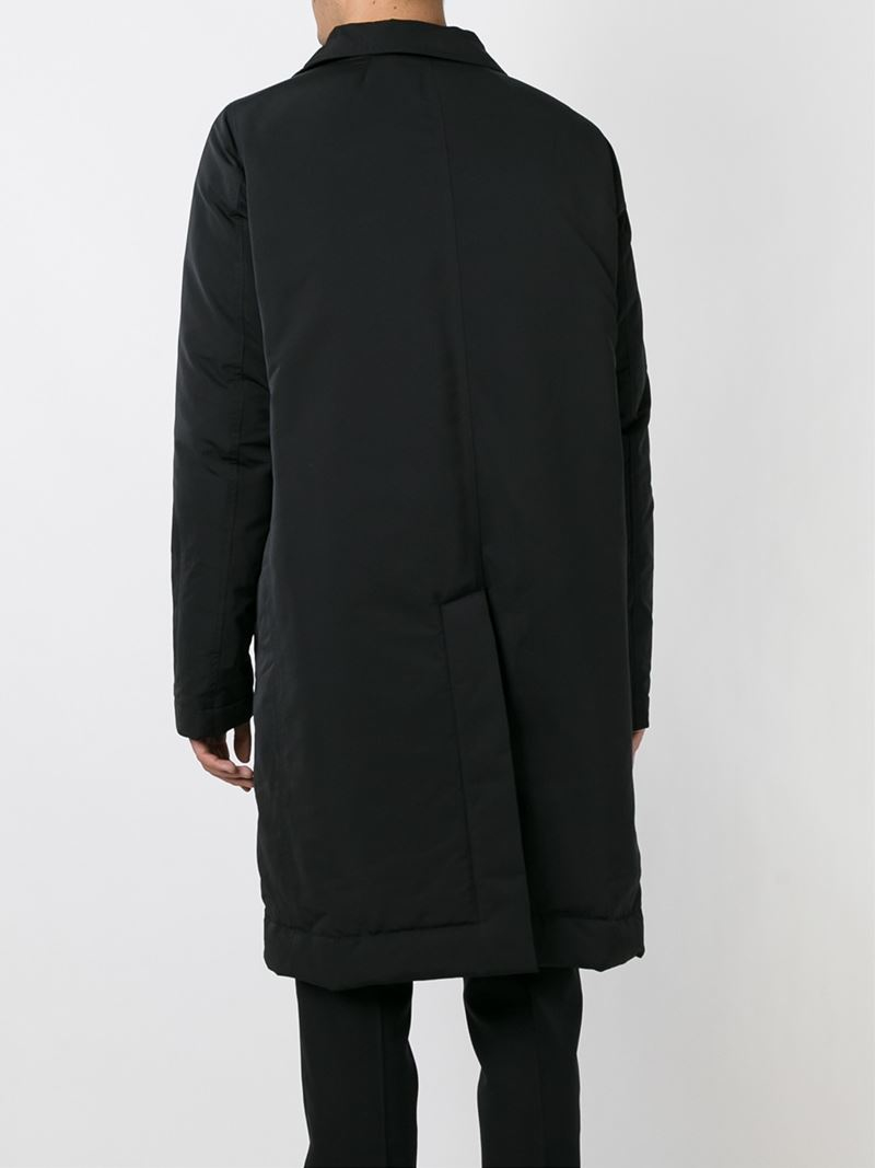 Rick owens Feather Down Coat in Black for Men | Lyst
