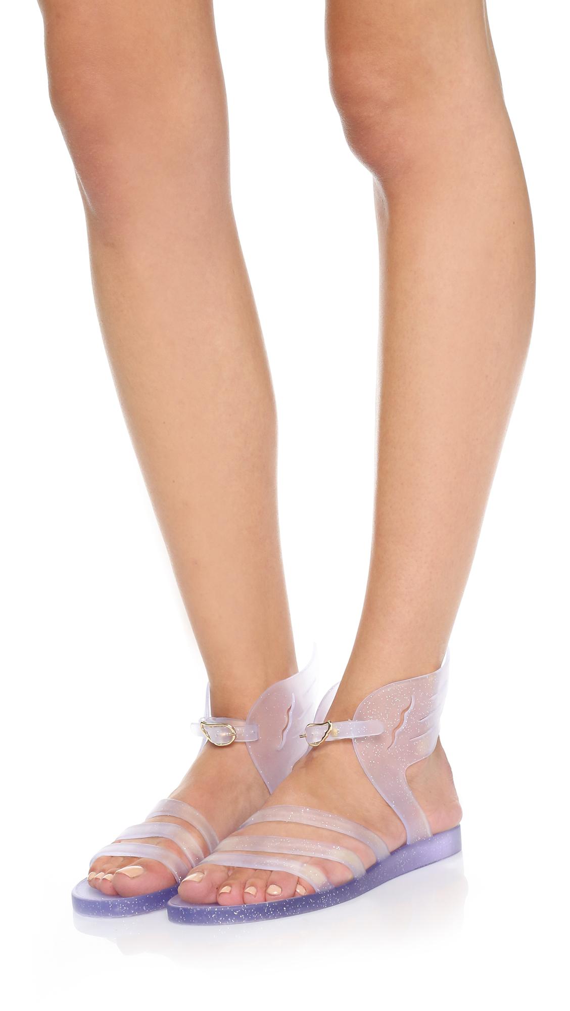 Ancient Greek Sandals Ikaria Wing Jelly Sandals Lyst