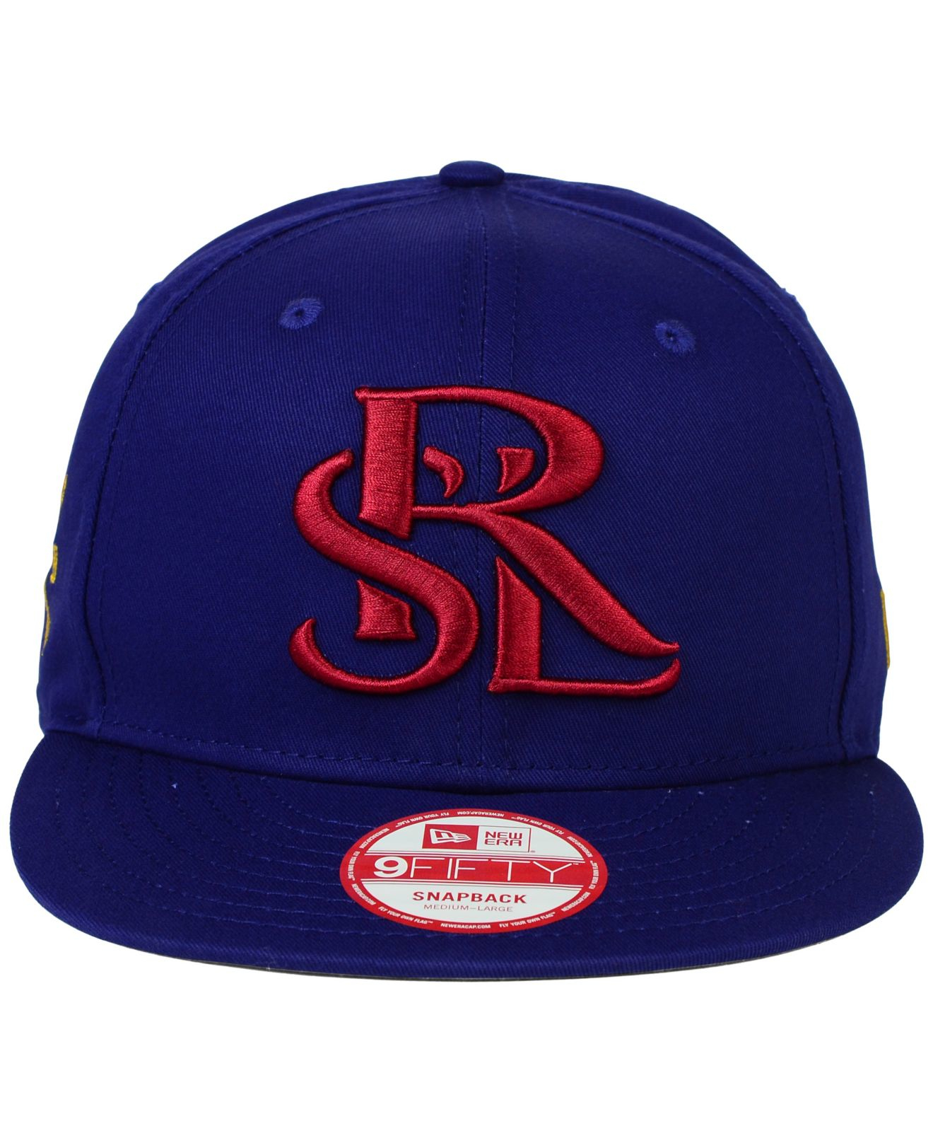 9f996d7c25c Lyst - KTZ Real Salt Lake Mls Undefeated 9fifty Snapback Cap in Blue for Men