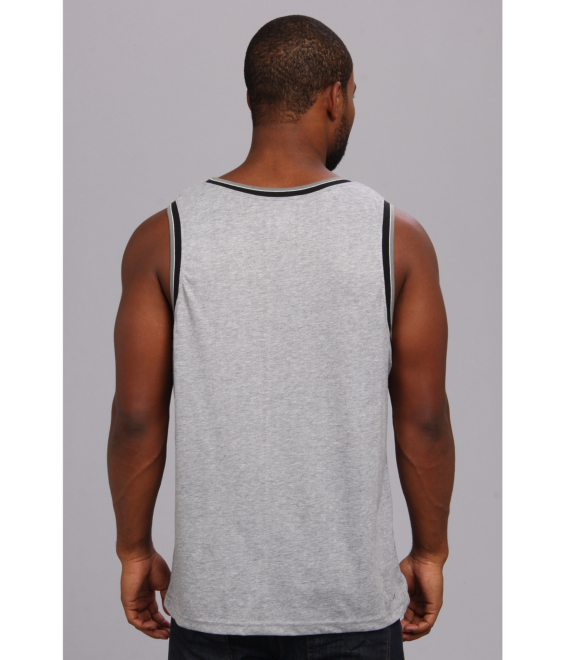 27426d528e0ac Lyst - Nike Sb Drifit Touch Varsity Blocked Tank Top in Gray for Men
