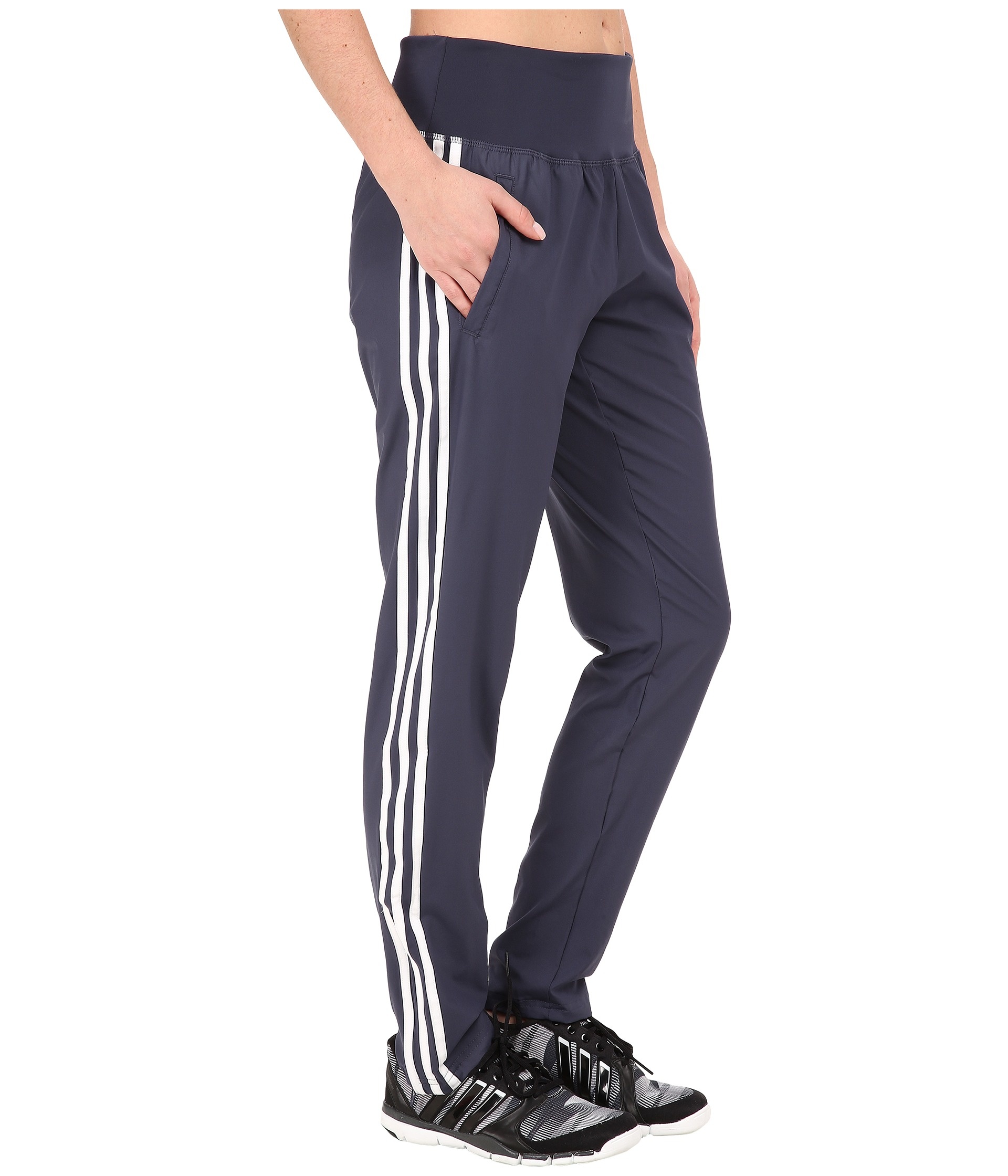 Lyst - adidas Derby Track Woven Pant in Blue fbf0867fc