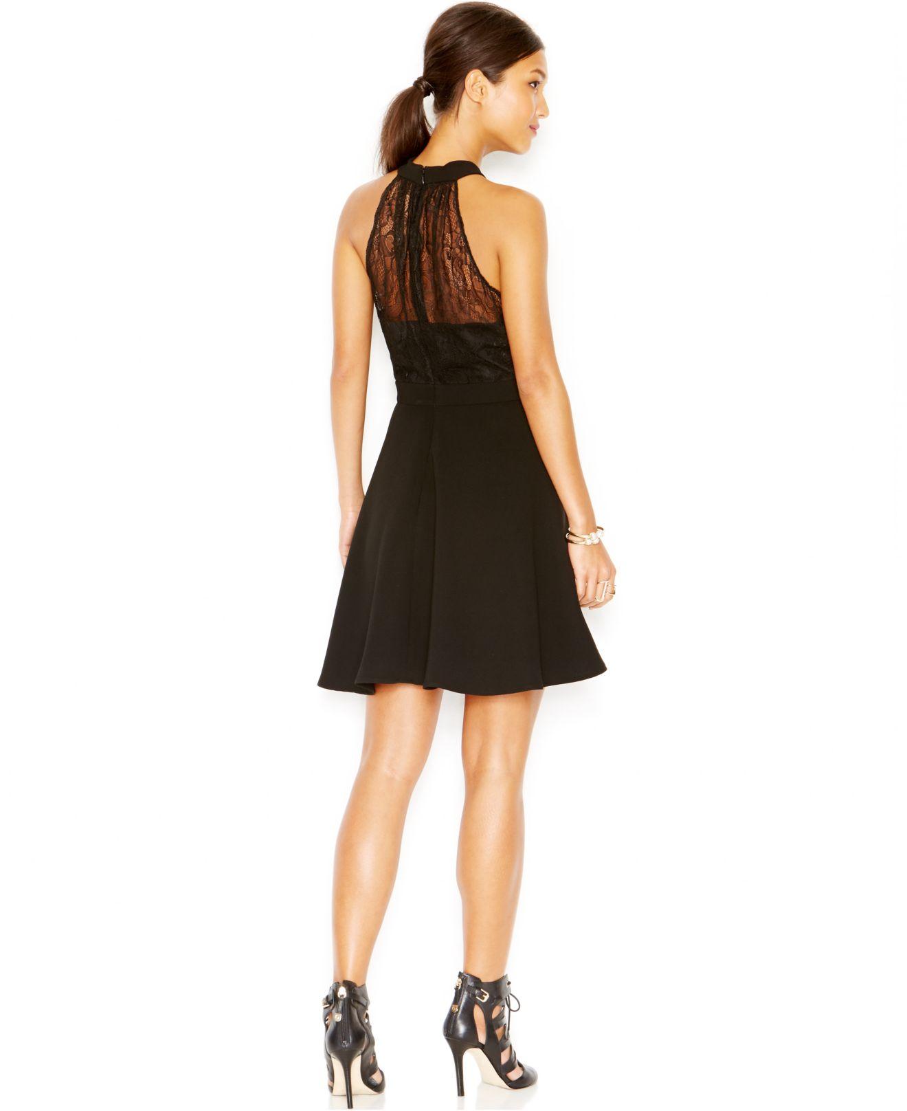 Black Lace Back Gown BCBG – Dresses for Woman