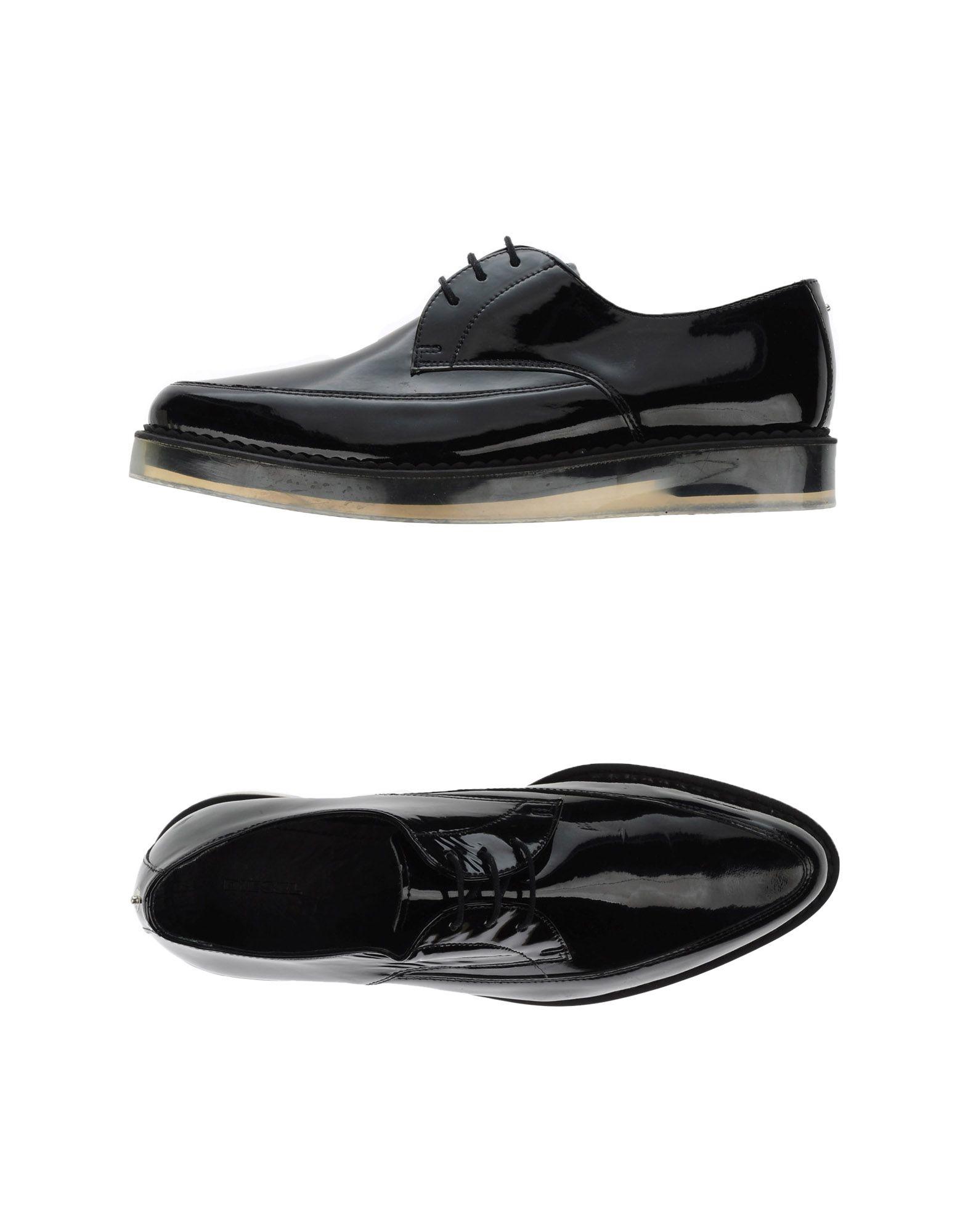 lace-up sneakers - Black Diesel ytKG9okjWa