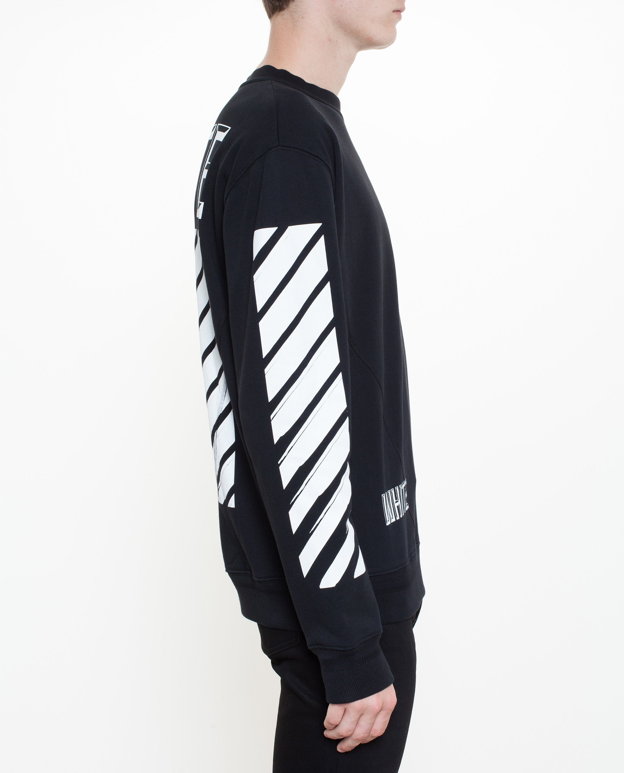 Off-white c/o virgil abloh 3d Logo Sweatshirt in Black | Lyst