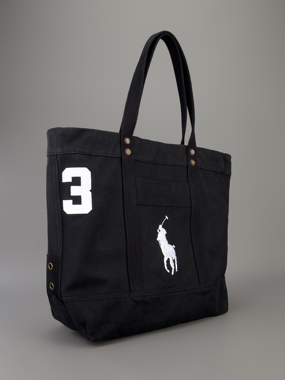 Polo ralph lauren Logo Shopping Bag in Black for Men | Lyst