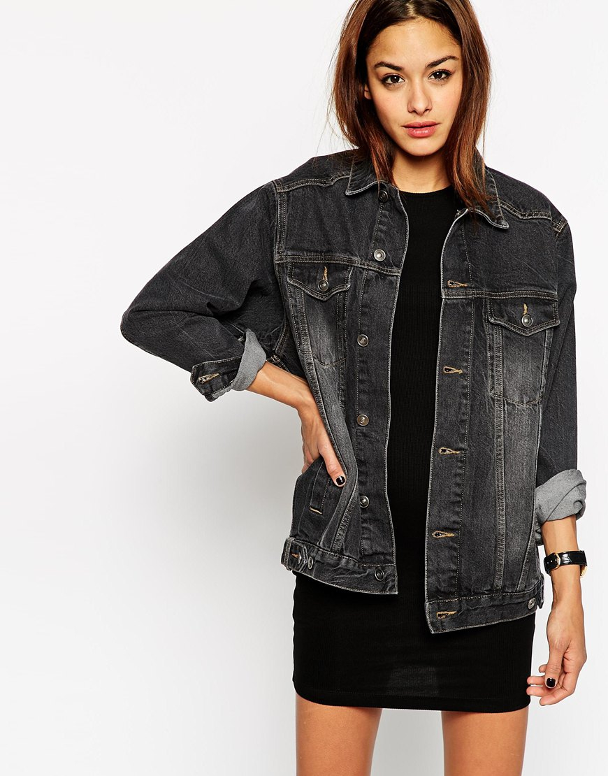 haute off the rack, spring style, women's fashion, gigi new york, jenni sadd. Find this Pin and more on Haute Off The Rack by Haute Off The Rack. Denim jacket and striped dress I need a jean jacket .