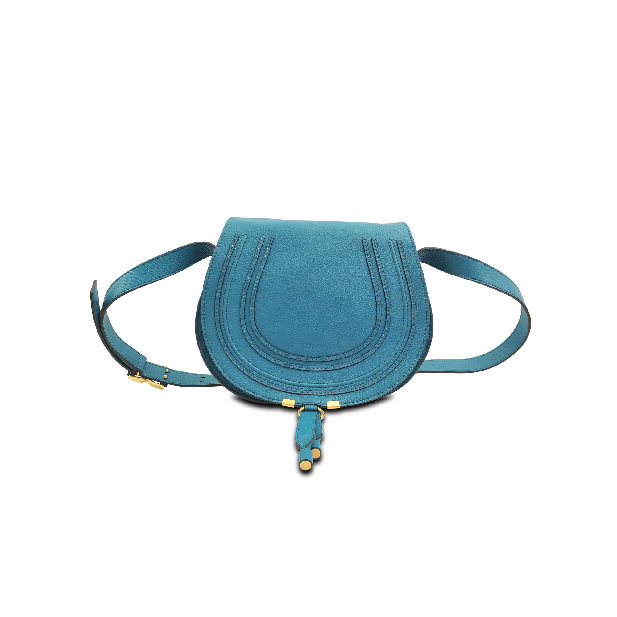 Chlo¨¦ Marcie Hobo Bag in Blue | Lyst