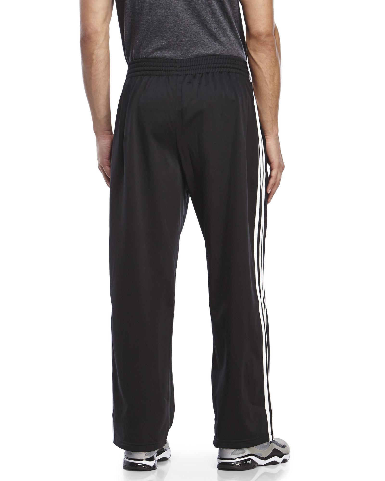 Lyst Adidas Originals Black Amp White 3 Stripe Sweatpants