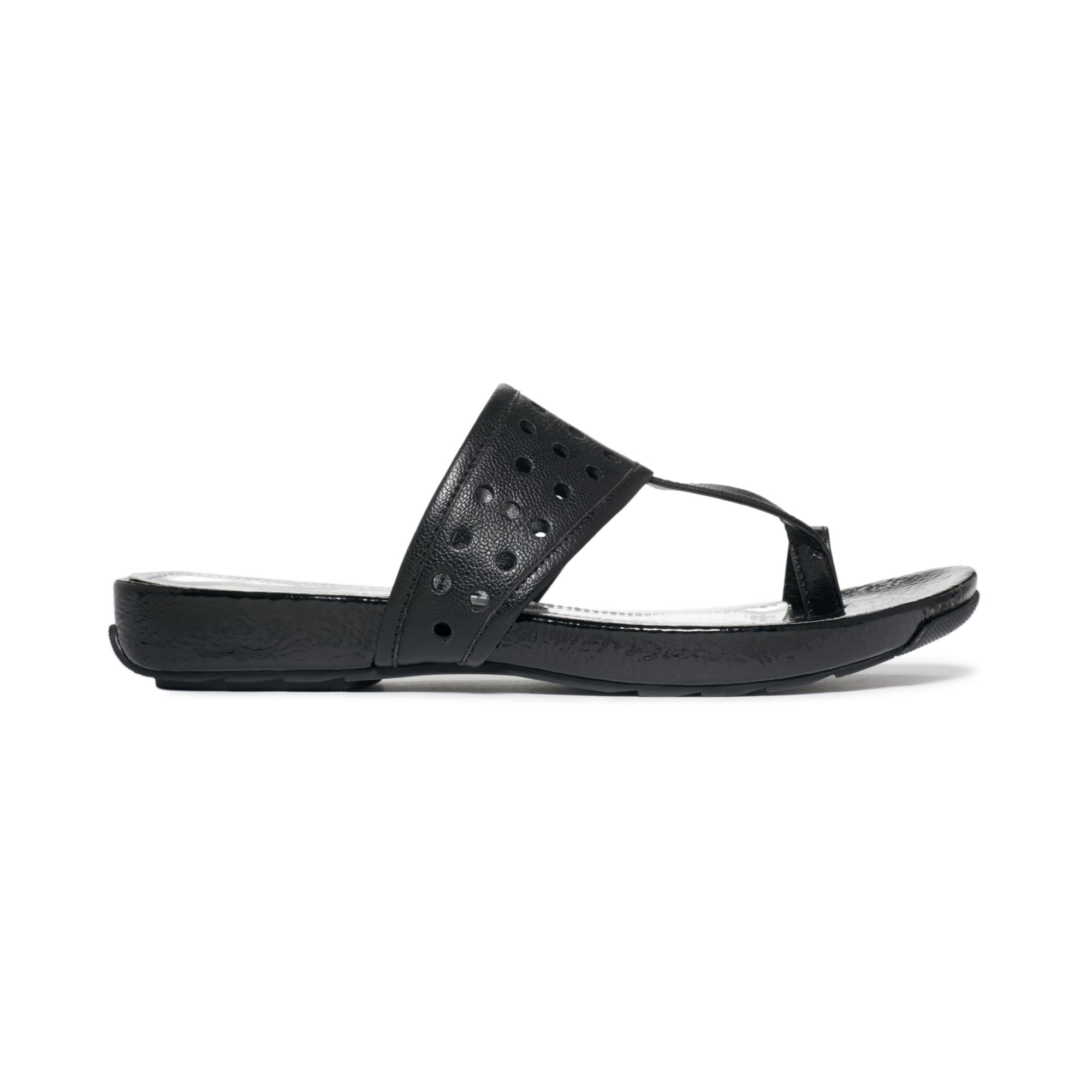 Lyst Kenneth Cole Reaction Womens Ballpark Sandals In Black