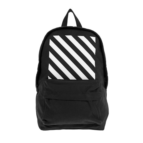 off white backpack in black for men lyst. Black Bedroom Furniture Sets. Home Design Ideas