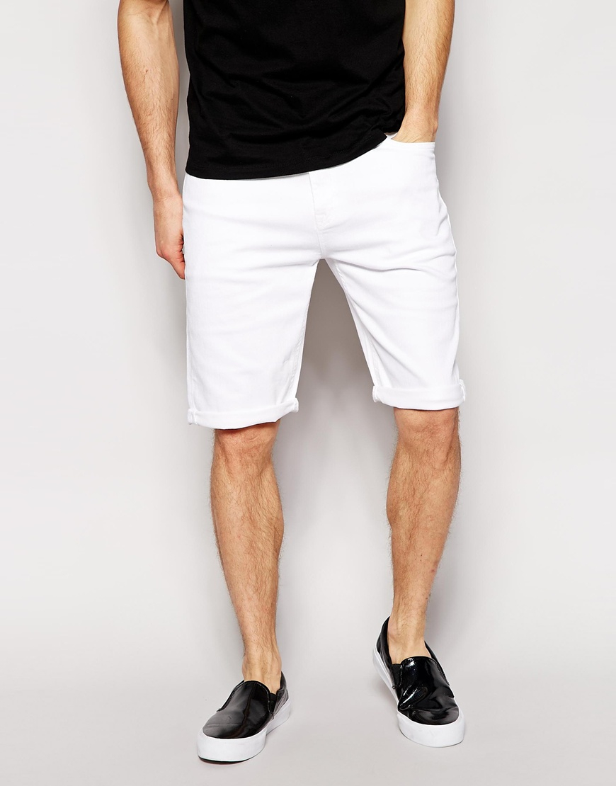 Shop men's denim shorts at Jimmy Jazz. Get clothing and streetwear from brands like G-Star, Embellish, Hudson Outerwear, Bass By Ron Bass, WeSC, and Levi's.
