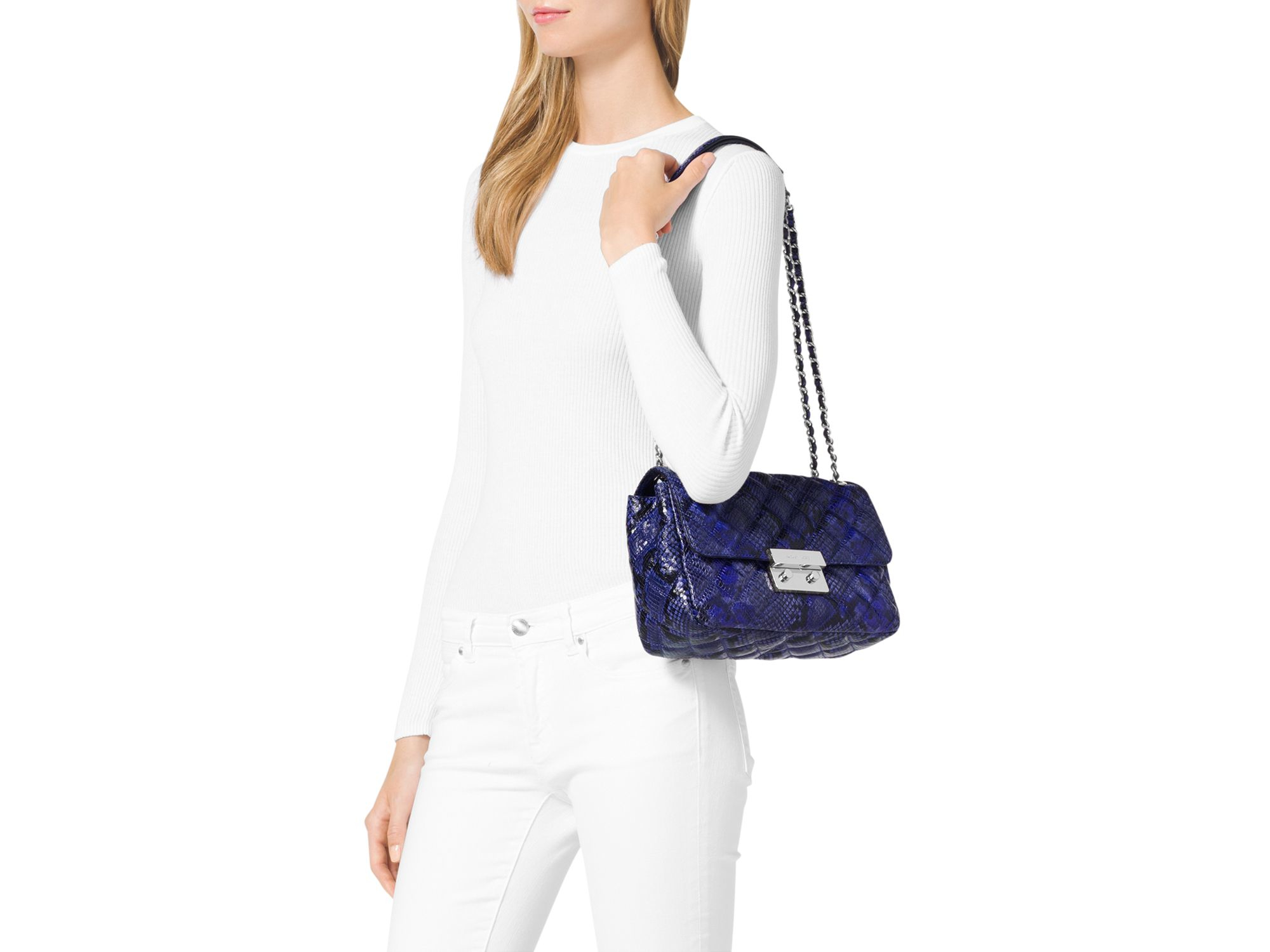 7d817cf239dc Gallery. Previously sold at: Bloomingdale's · Women's Michael By Michael  Kors Sloan ...