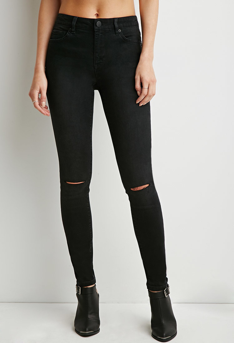 Ripped jeans at forever 21 - Ripped Jeans At Forever 21 – Your New Jeans Photo Blog