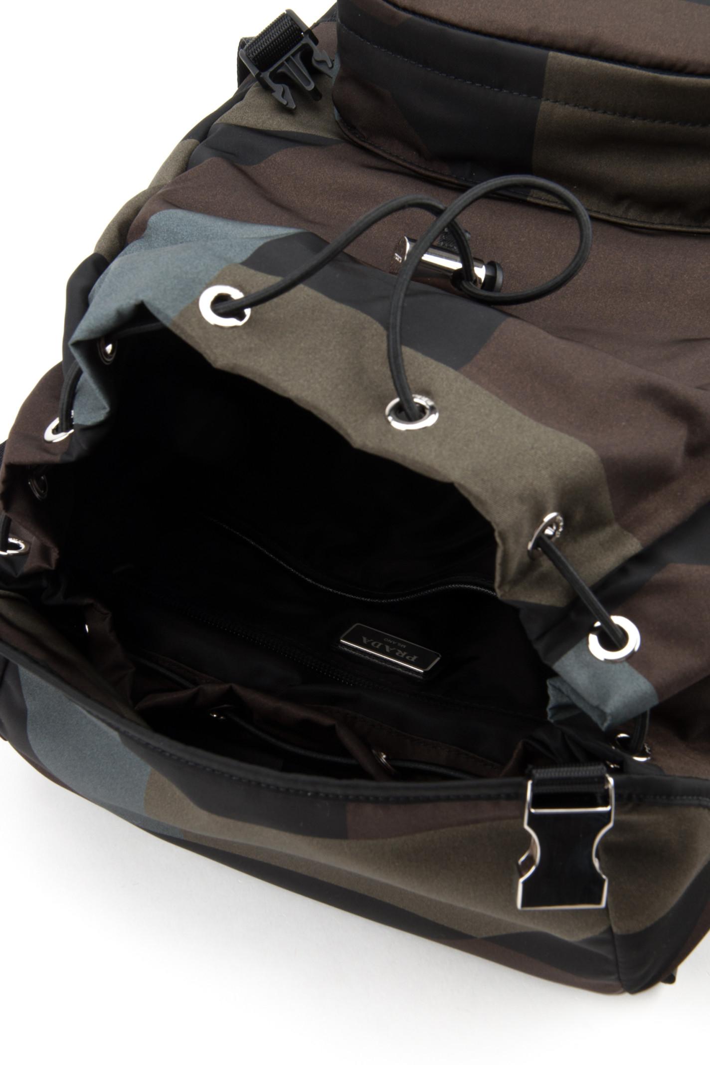 prices of prada purses - prada blue cotton backpack