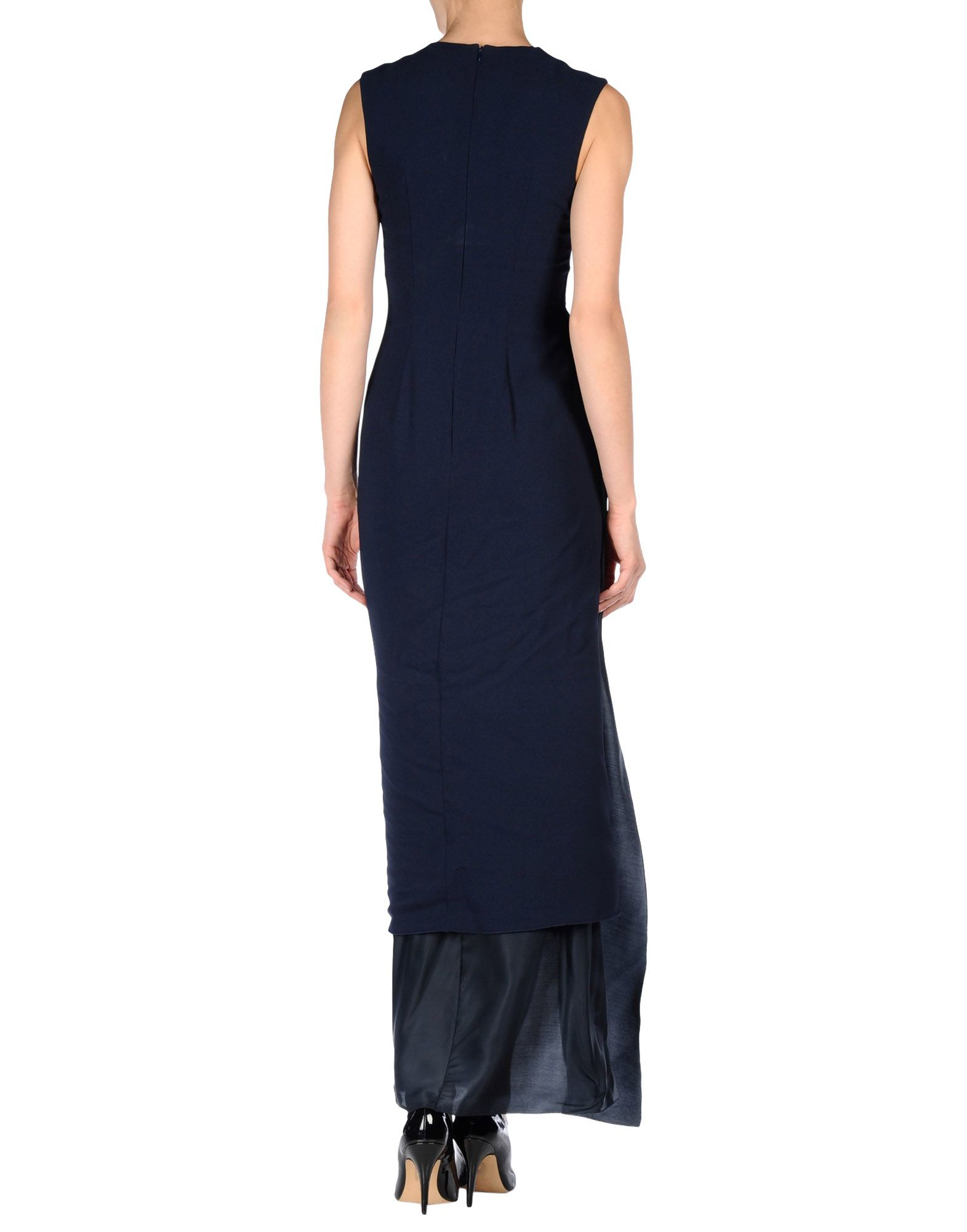Acne Studios Long Dress in Blue