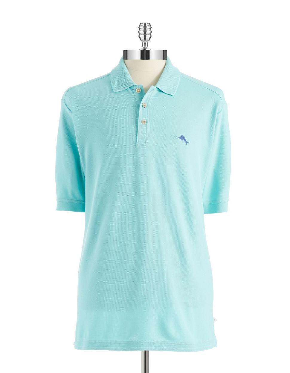 Lyst Tommy Bahama Emfielder Polo Shirt In Blue For Men