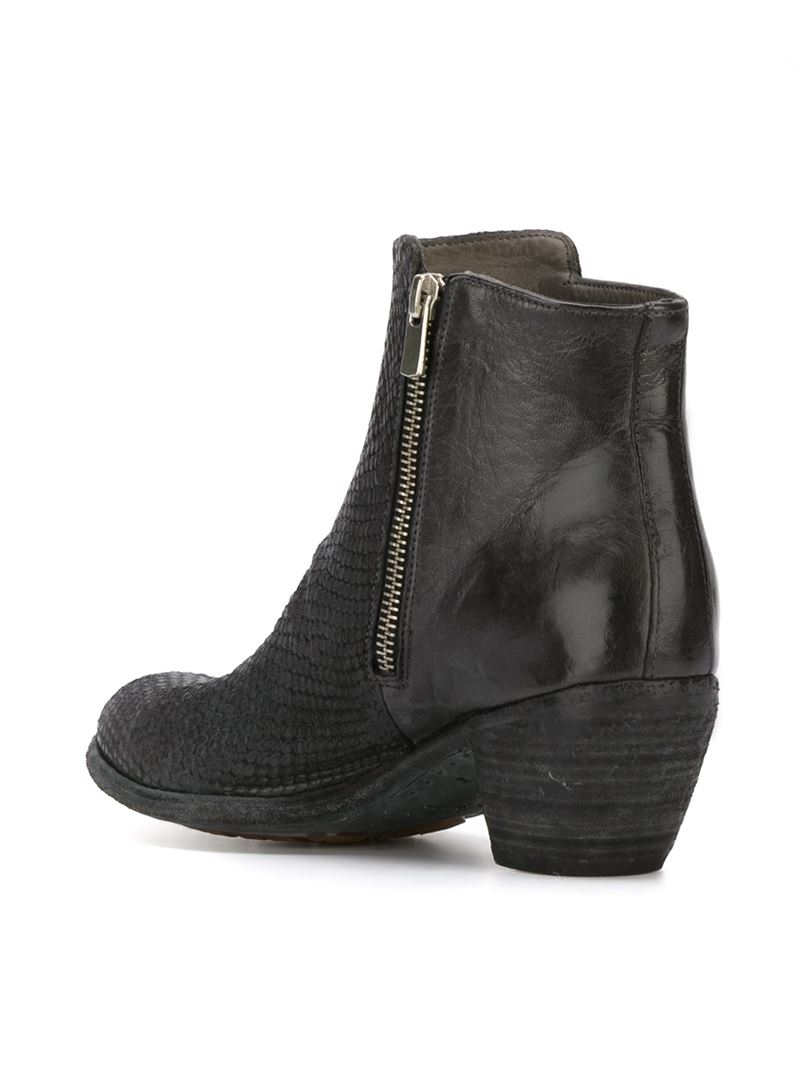 Brilliant Officine Creative U0026#39;lavetteu0026#39; Boots In Black | Lyst