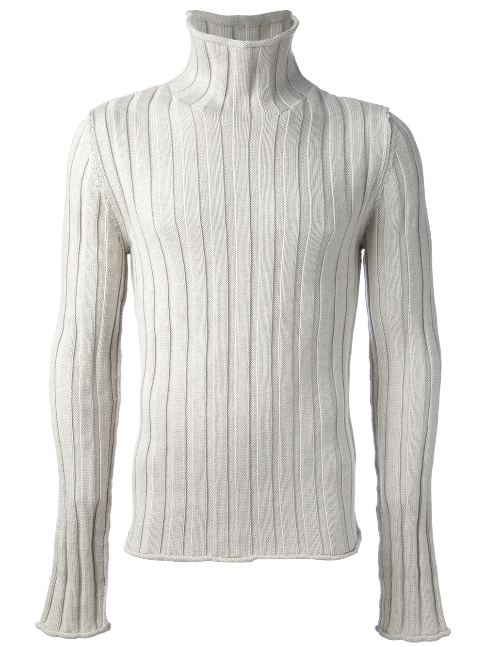 Dolce & gabbana Ribbed Sweater in White for Men | Lyst
