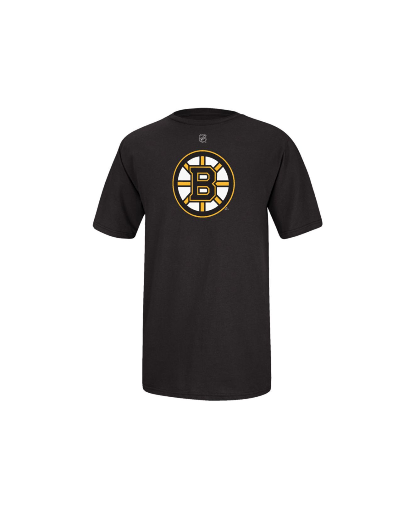 7ead41da469 Reebok - Black Men s Short-sleeve Gregory Campbell Boston Bruins Nhl Player  T-shirt
