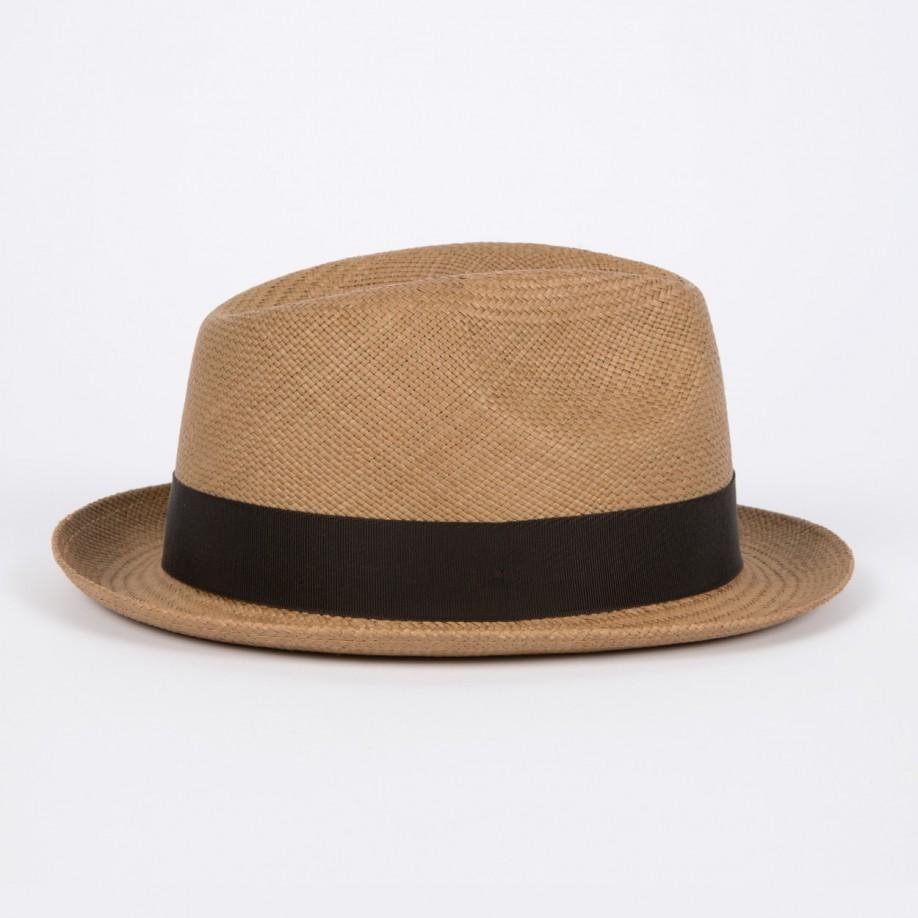 Paul Smith Christys  Tan Straw Panama Trilby Hat in Brown for Men - Lyst 69dd44cc57bd