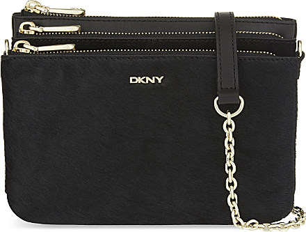 DKNY Triple Compartment Cross-body Bag