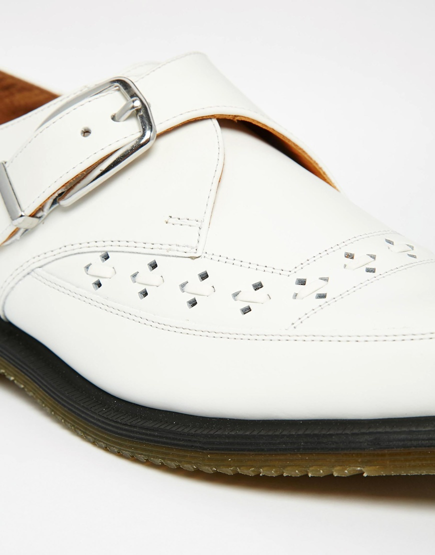 5a1cbbb592 Men In For Dr Lyst Strap Monk Creeper Rousden Shoes Martens White gBvqwB7p