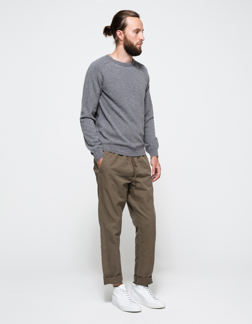 A.p.c. Carl Sweater in Gray for Men