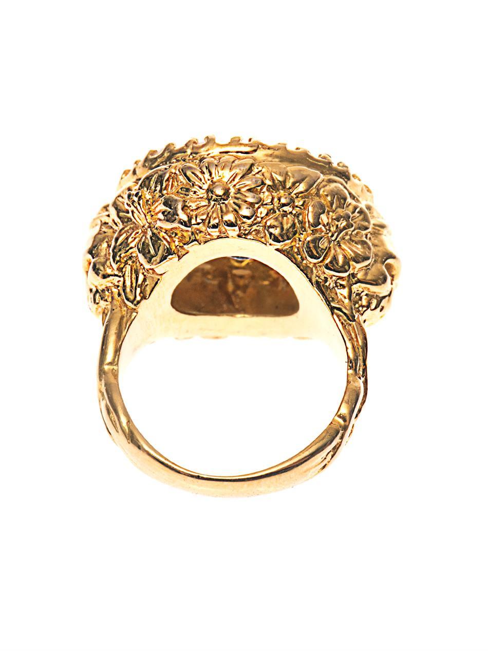 Gold Plated Aquamarine Ring Uk