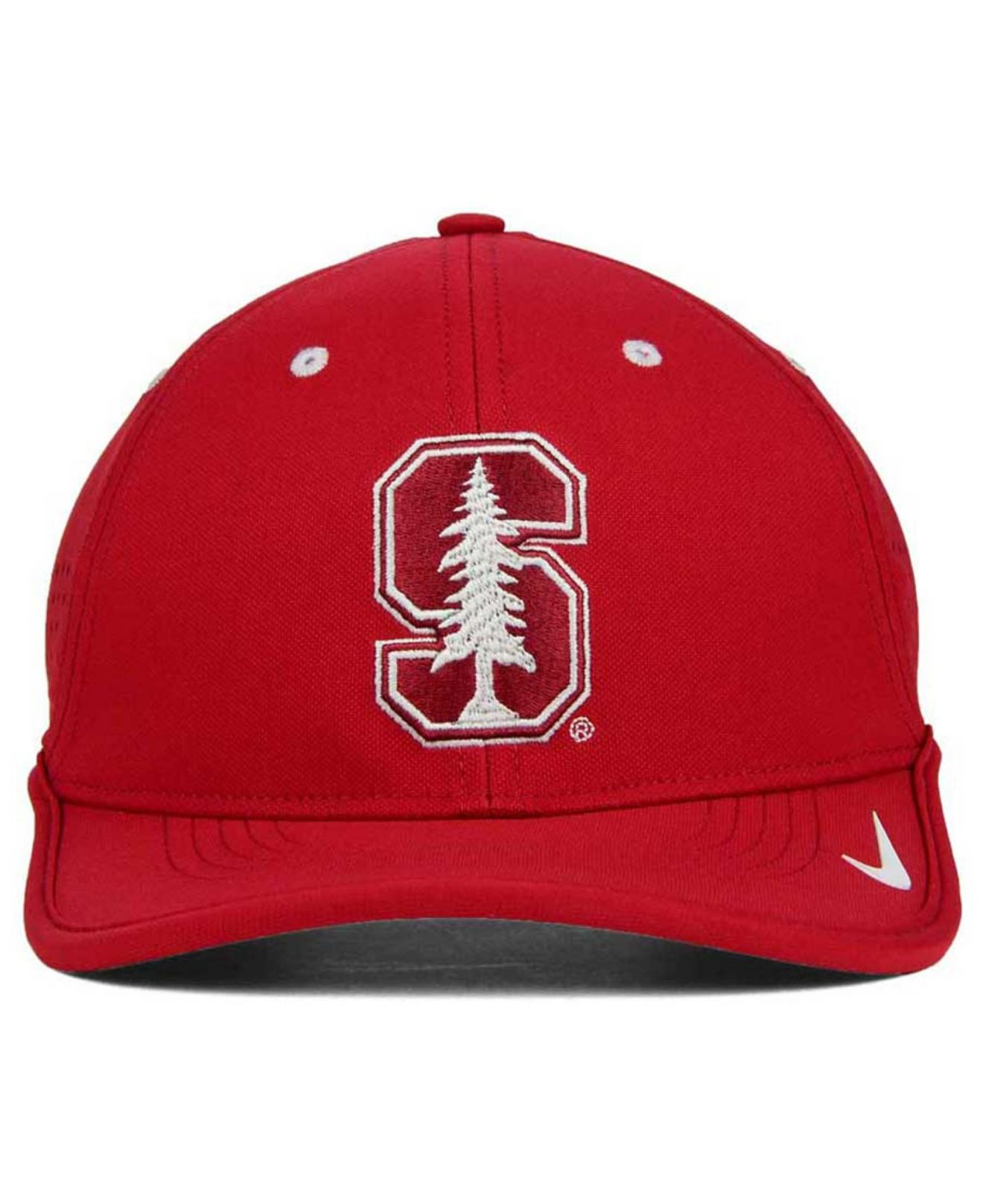 33a752d0ea1 ... best price lyst nike stanford cardinal dri fit coaches cap in red for  men 9c233 dbf25