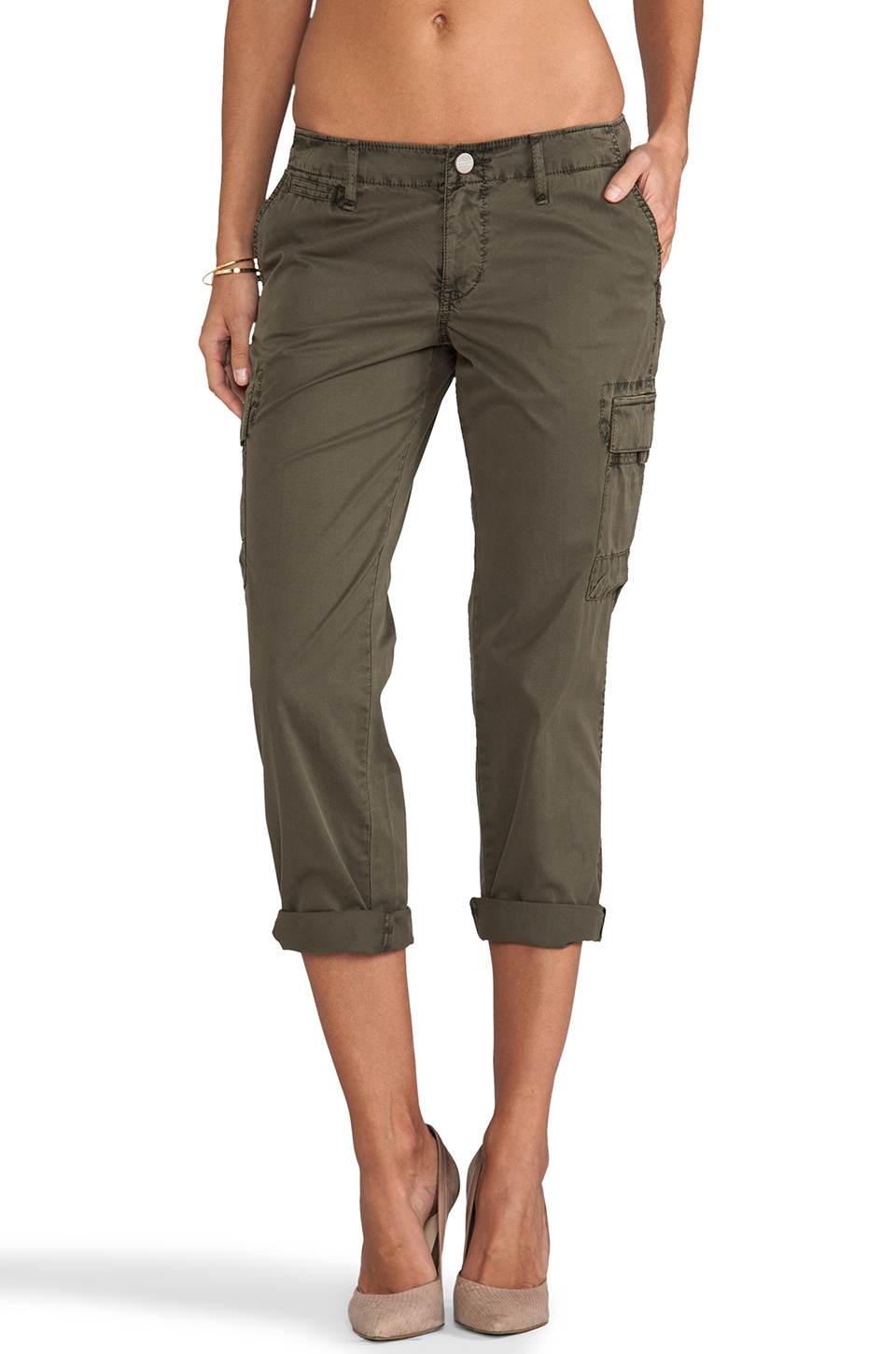 Lyst Sanctuary City Sport Cargo Pants In Green