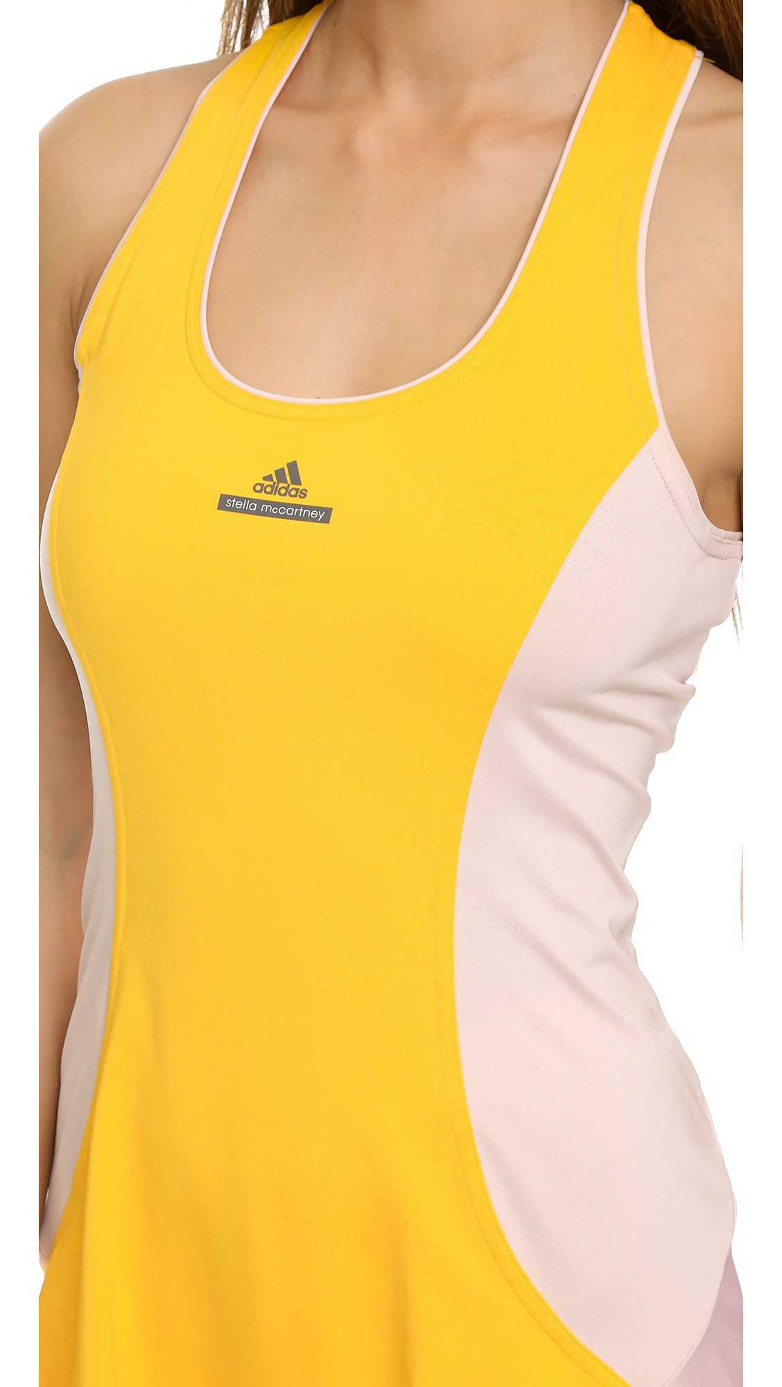 Lyst - adidas By Stella McCartney Tennis Dress in Pink