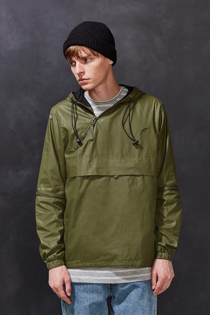 Timberland Slater Anorak Jacket In Green For Men Lyst