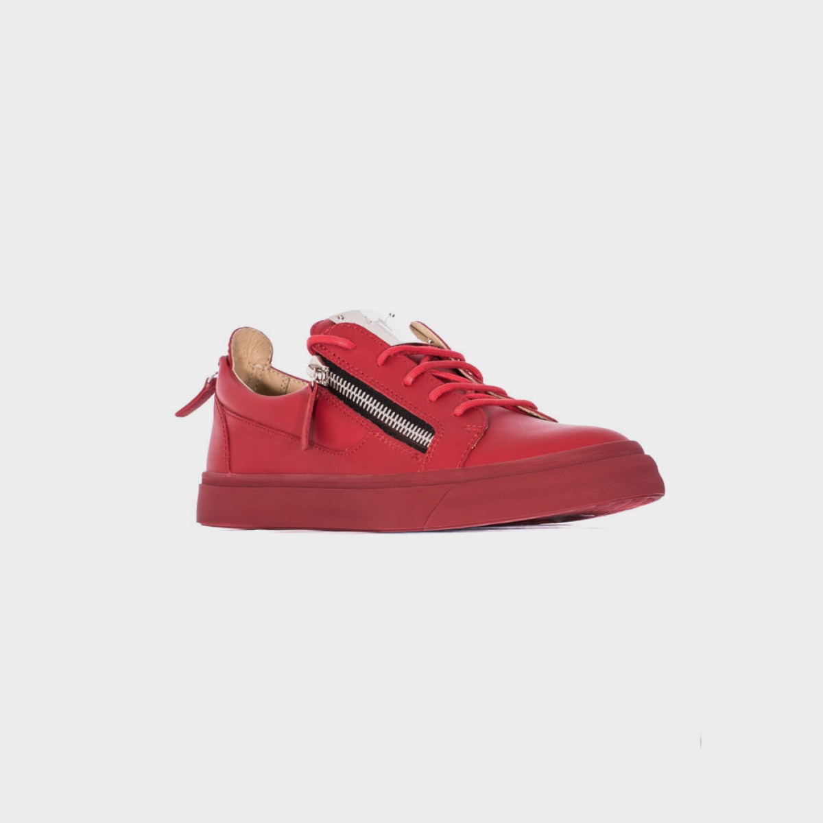 giuseppe zanotti sneakers low red