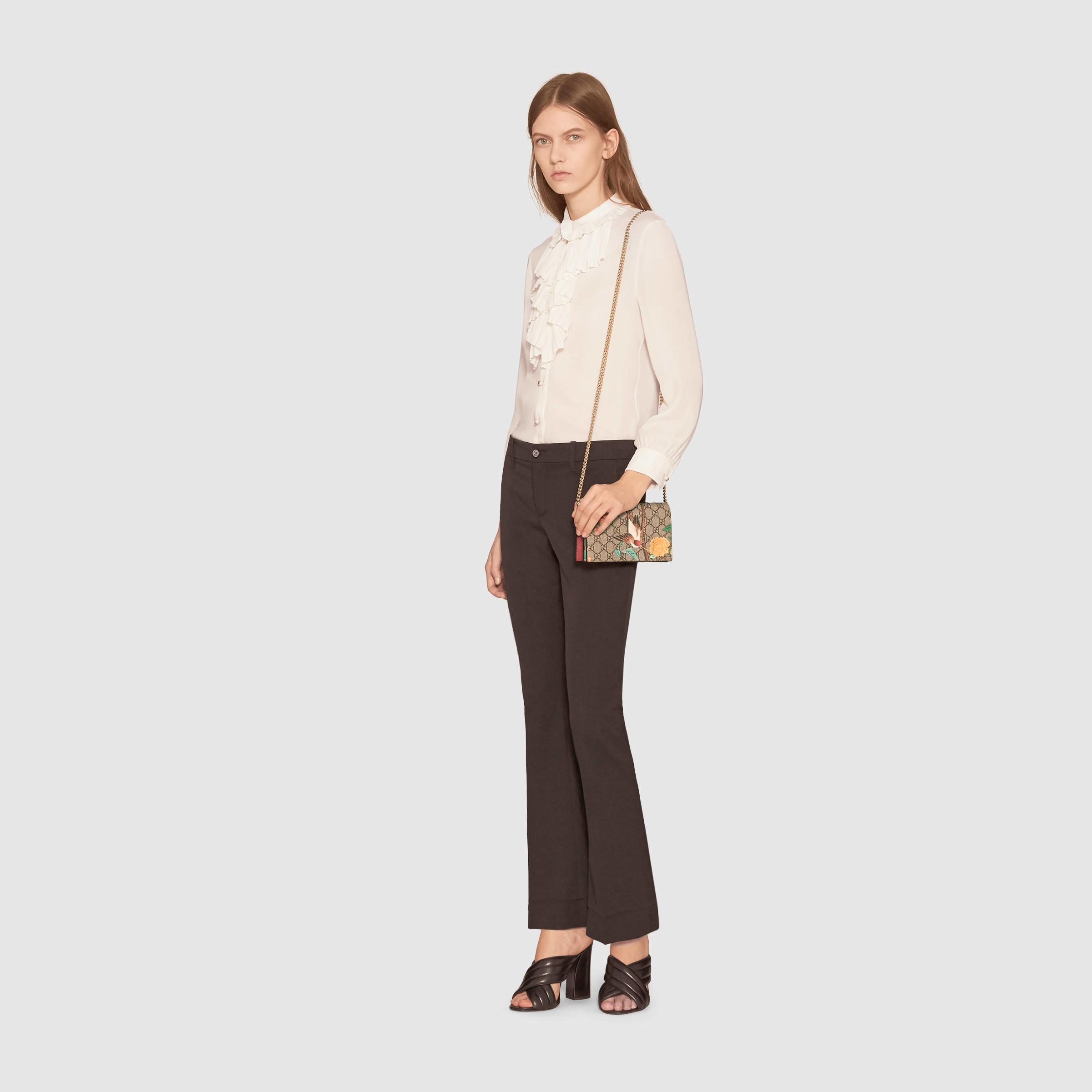 8c7d7129480f Gucci Tian Mini Chain Bag - Lyst