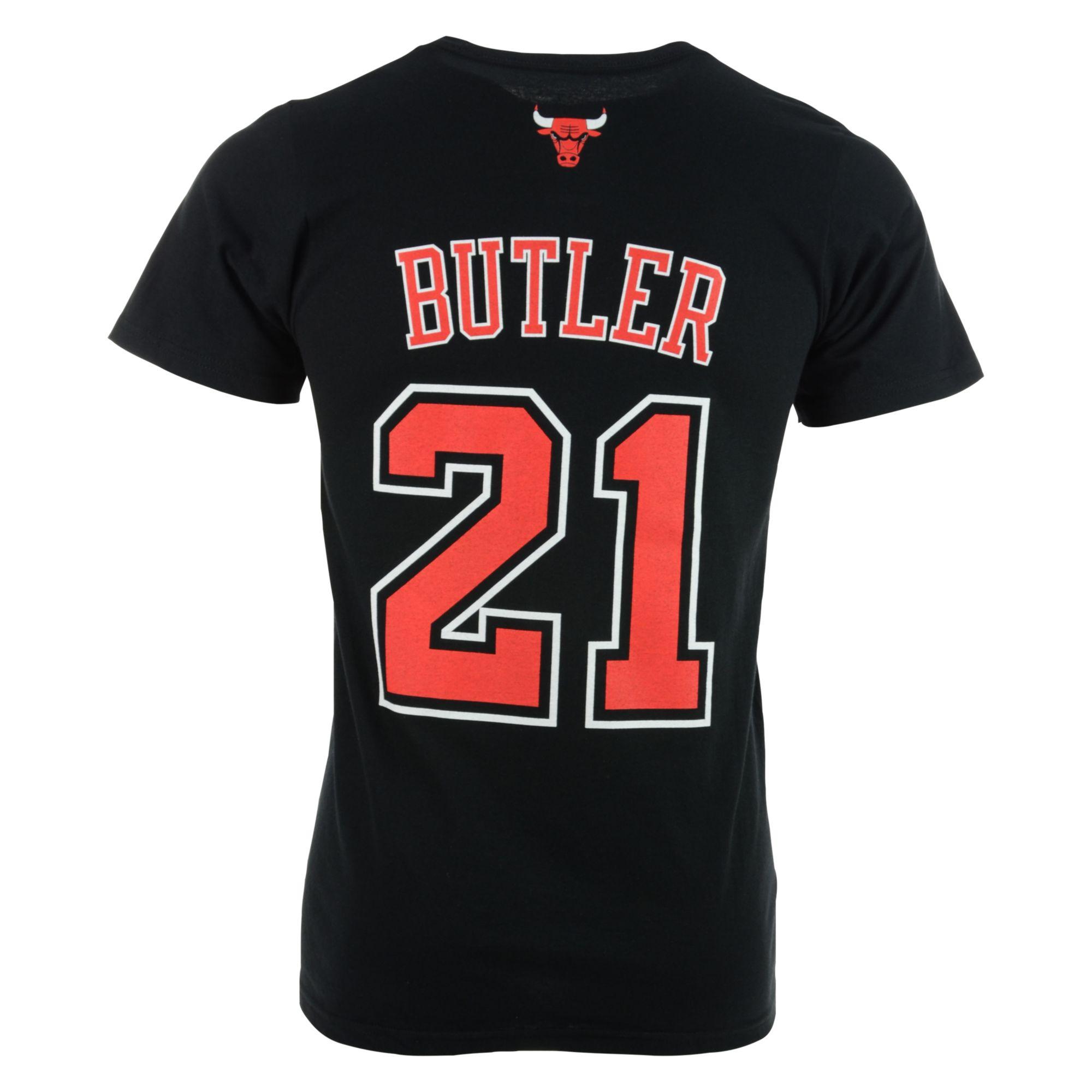 adidas men 39 s jimmy butler chicago bulls player t shirt in. Black Bedroom Furniture Sets. Home Design Ideas