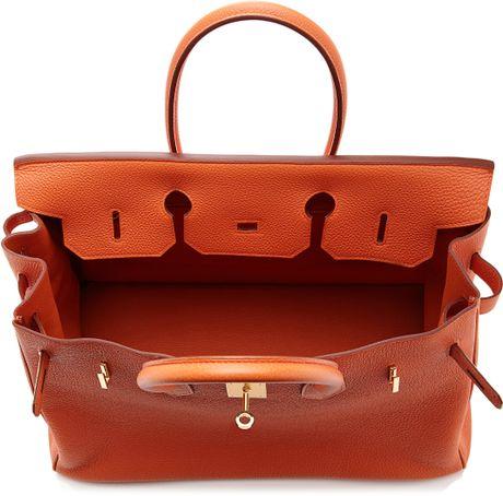 5e78737105 Hermes Birkin 35cm Togo Orange