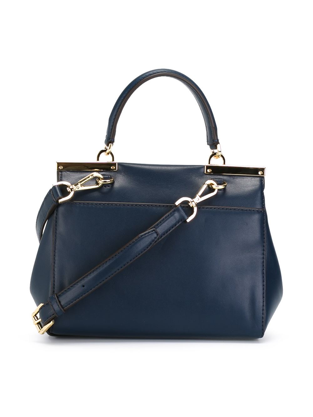 Lyst Michael Michael Kors Small Marlow Tote In Blue