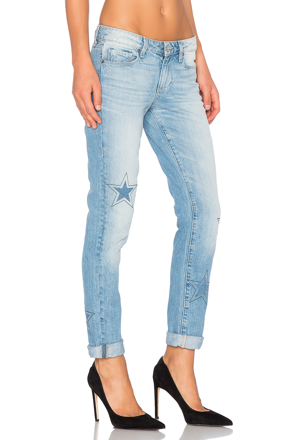 952bc3a3c3b PAIGE Jimmy Jimmy Skinny in Blue - Lyst