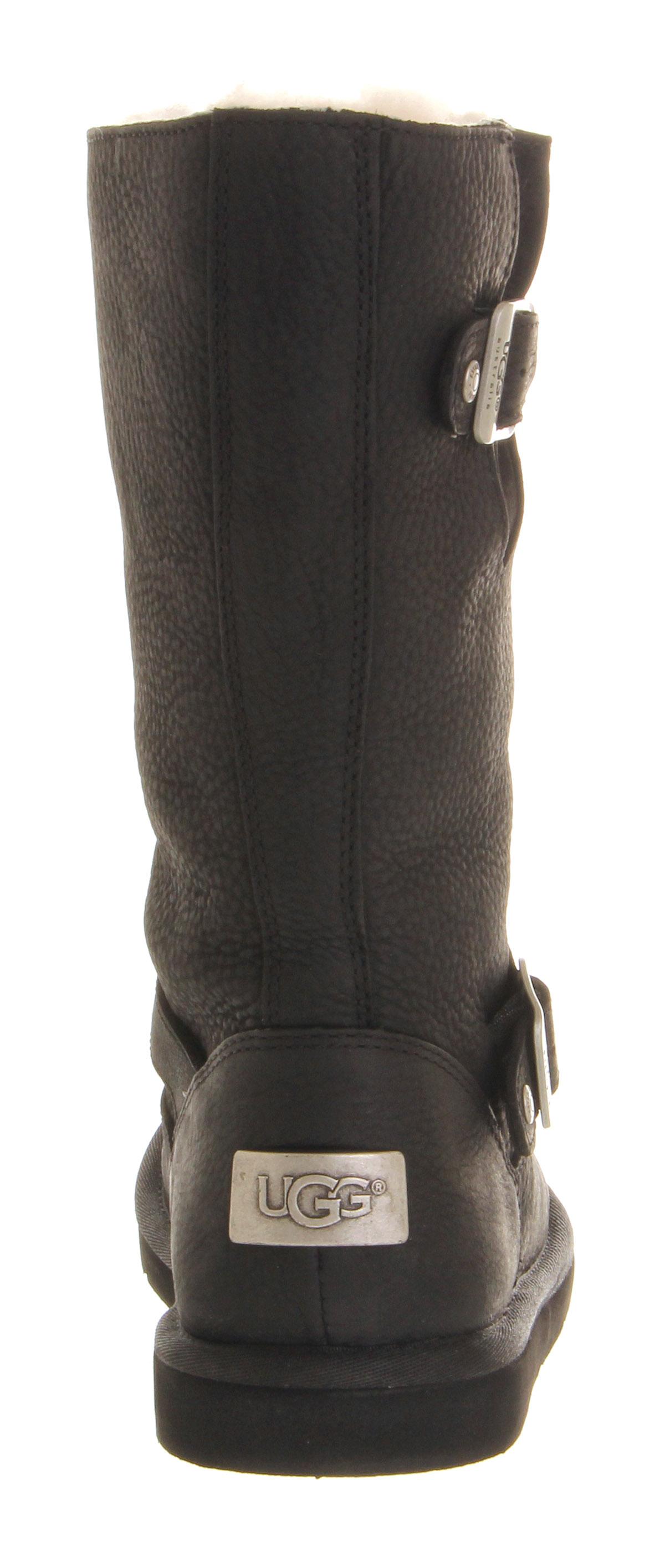 ugg kensington black boots
