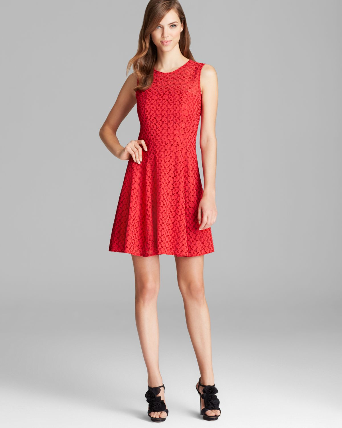 Nanette lepore Dress Rendezvous Lace and Embroidery Fool For Love ...